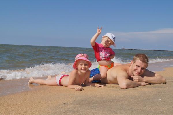 Я и мои чудесные дочки!