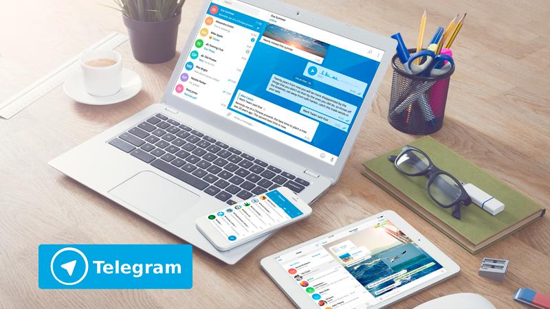 Как установить телеграм